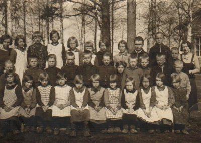 Unton ja Leilan luokkakuva 1932