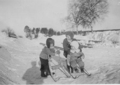 Timo ja Juhani Tiuraniemi sekä Olli Mäkitiura