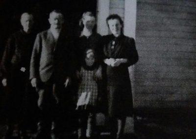 Heikki ja Hilda Oinas, Olga Puro, Irja Tenokari, Aila Valli